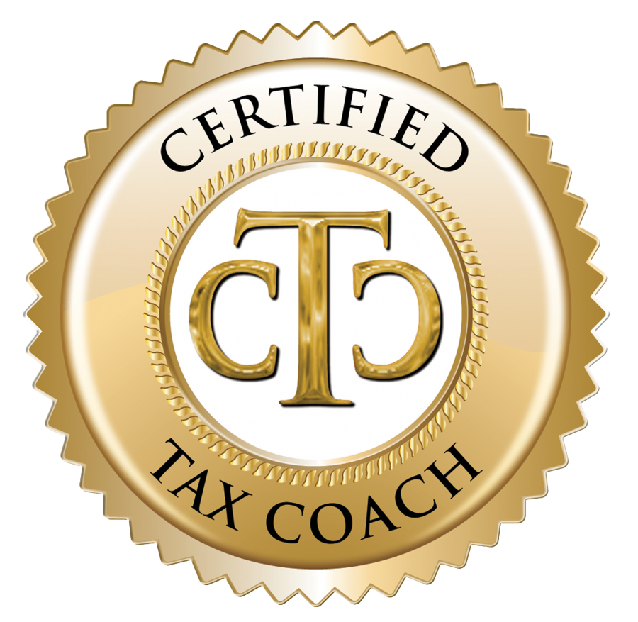 official Certified Tax Coach seal